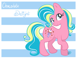 Chocolate Delight by drawnbykenna
