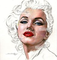a portrait of marilyn wip1 by aramismarron