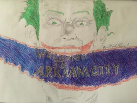 Welcome to Arkham City by kingvaughnjr