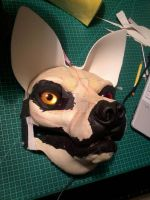 Fursuit WIP for Kouta by LawhanWoves
