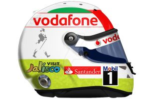 Sergio Perez Helmet 2013 by engineerJR
