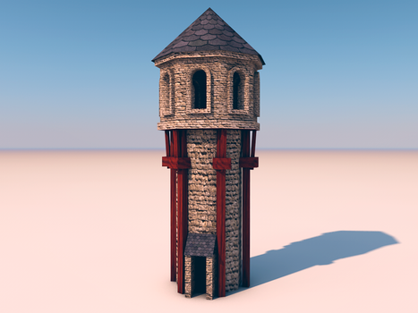 Torre - Tower by LucianoMolloDesigns