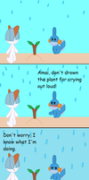 Don't drown the plant! (errand 7) by Kidincred