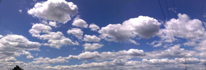 fluffy clouds by 7kipe