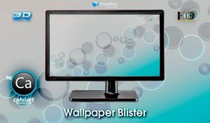 Wallpaper Blister by CaHilART