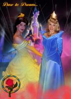 D2DW5 011 - Belle and Aurora by bellesprince