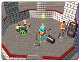 Pyjama Rooftop Rockband Fundraiser Party by cadpig1099