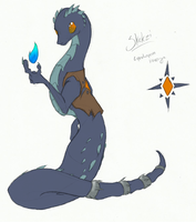 Skekzi the Lyndwyrm by IceOfWaterflock