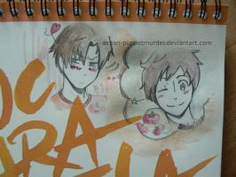 romano spain by DeerAzeen