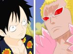 Luffy vs Mingo by juanfco17