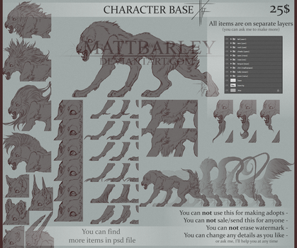 Character Base for sale by MattBarley