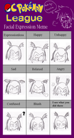 OCPL Expression Meme - Hachi by Sonic-chaos