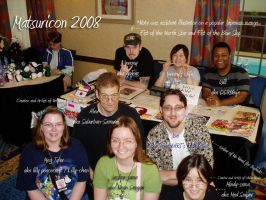 Matsuricon Artist Group 2008 by lilly-peacecraft