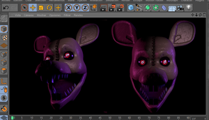 W.I.P's| Monster Rat W.I.P 2 by YinyangGio1987