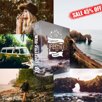SALE 45% OFF | Lifestyle Film Lightroom Presets by hubafilter