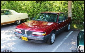 1987 Pontiac Grand Am by compaan-art