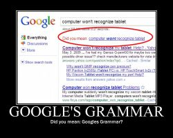 Google's Grammar by Blood-stalker