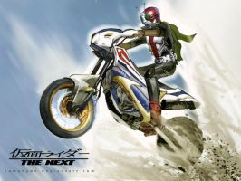 Kamen rider v3 hurricane by RAMAHYDE