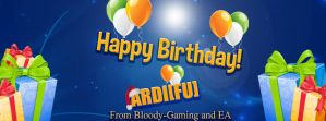 Happy Birthday Ardi[FU] by epro-creative