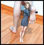 Her feet are freakishly big, right?? by Fierce-Invalid