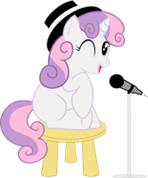 Sweetie Belle: On the Rise to Fame by CrimsonLynx97