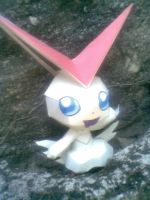 victini papercraft by turtwigcuTey