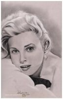 Grace Kelly by nabey