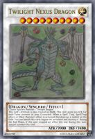 Twilight Nexus Dragon card by A5L