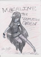 Marceline the Vampire Queen Anime Form by LadyDeathCandy