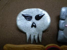 Generic Skull Pin by DigiPad