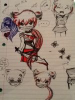 Random doodle and new OC by 4everabooklovergirl2