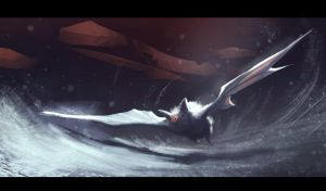 white bat speed painting about 40MIN by hugo-richard