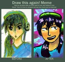 Before And After: 2012 vs 2014 by dorandsugar