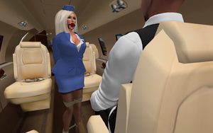 bondage airlines... bound to please you by AnneDenise