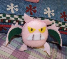 Shiny Crobat Bell Plush by darlimondoll