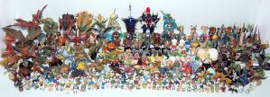Monster Hunter Figure Collection by cyevidal10