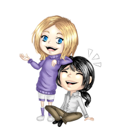 Commission for Art-By-Cait chibi by Sferath
