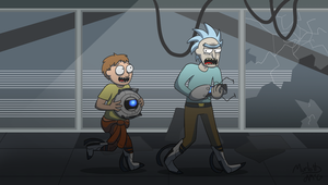 Think With Portals, Morty by Murlott