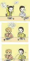 Dinner time in the Soong family by Winterxbirdy