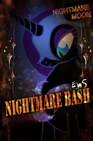 EWS Nightmare Bash Poster and Match Card by DigiRadiance