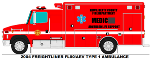 New Liberty County Fire Department - Medic (Spare) by benfdlr14