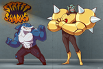 Ripster and Dr. Piranoid Redesigns by Blazbaros