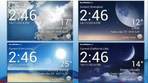 LG UI3 Weather Widget for xwidget by jimking