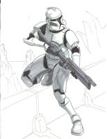 Clone Trooper by jdeberge