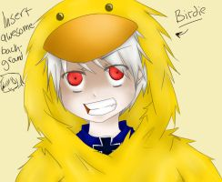 Prussia is a bird...yah by Kurisuti-chan