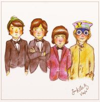The Monkees by Kumu18
