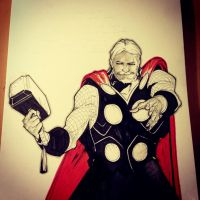 Thor by bbrunoliveira