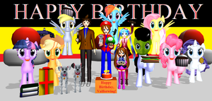 Happy Birthday, Valforwing!! (Oct. 11, 2014) by Mario-McFly