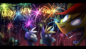 HAPPY NEW YEAR by Mearow