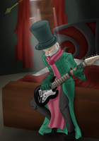 While My Guitar Gently Weeps by Xellphy
